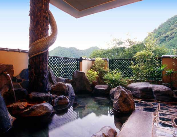 Nifty温泉(離れのお宿 松風苑)へ