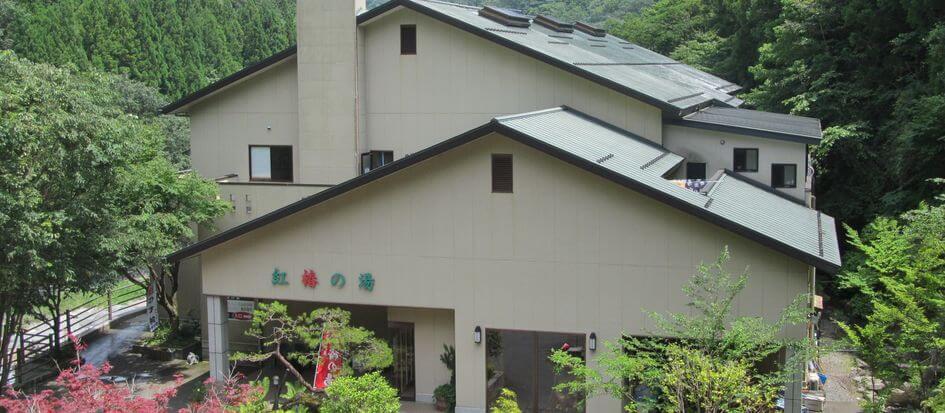 道志川温泉紅椿の湯(どうしがわおんせんべにつばきのゆ)