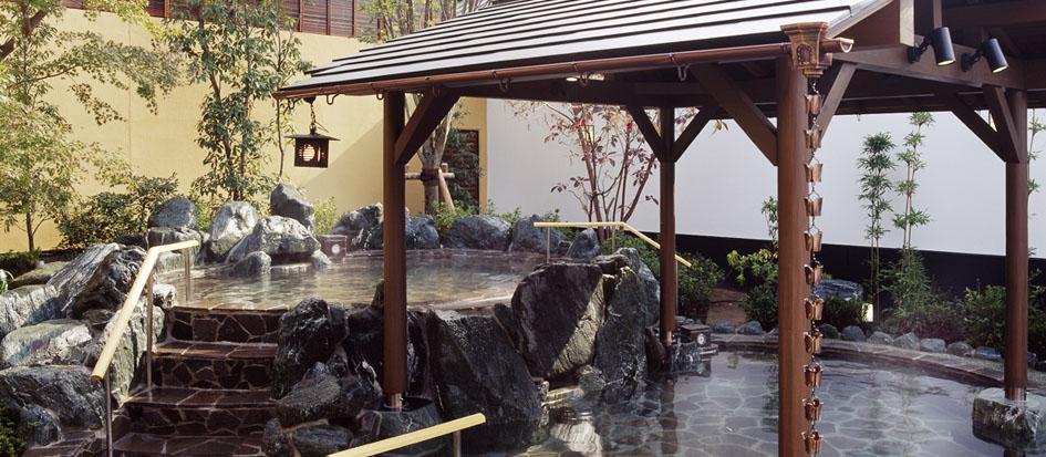 栃木温泉 湯楽の里(ゆらのさと)
