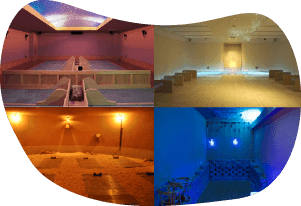 Enjoy several types of baths at spa facilities!